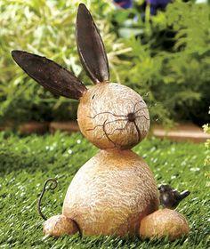 Amazon.com: Stone Critter - Bunny: Patio, Lawn & Garden