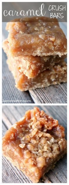 These exquisite Caramel Crush Bars will melt in your mouth and leave you begging for more! I bet you can't eat just one!
