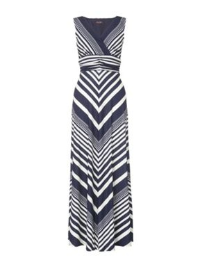 Variegated Maxi Dress: Fashion, Style, Clothes, Clothing, Dream Closet, Outfit, Maxis, Chevron Maxi Dresses