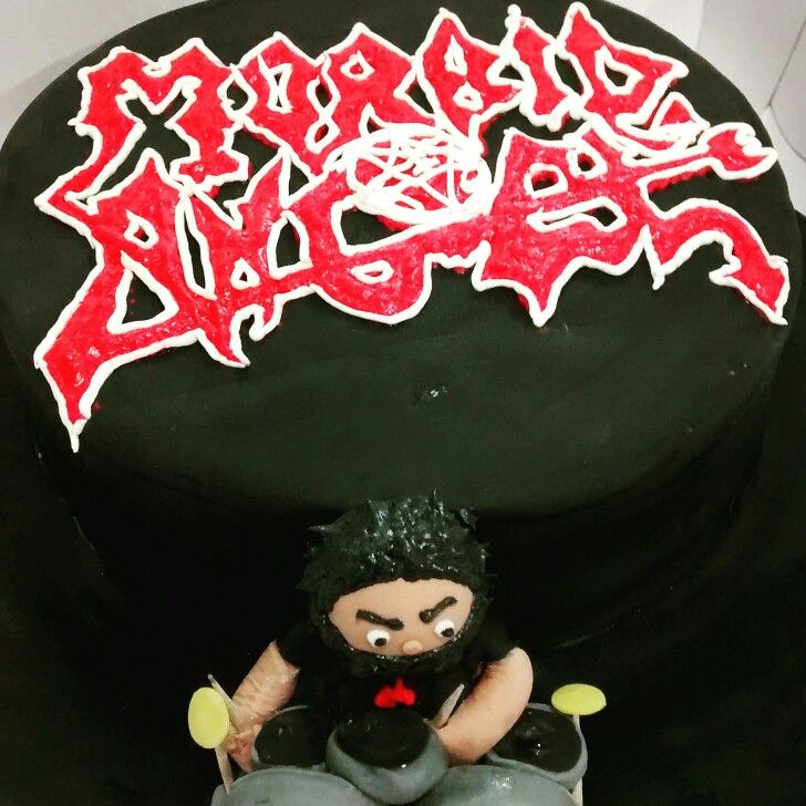 Morbid angel cake