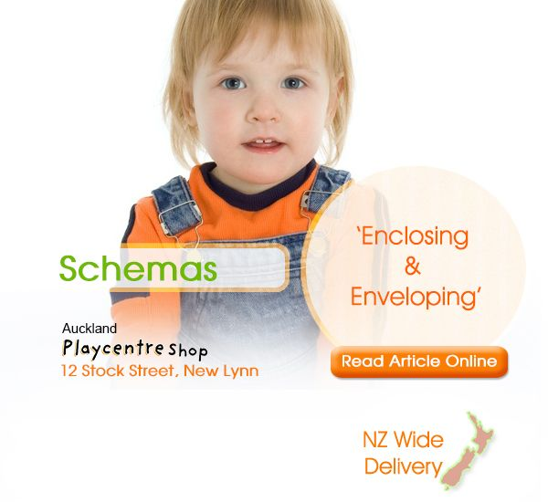 "Schemas: Enclosing & Enveloping. ""We've put these two schemas together…"