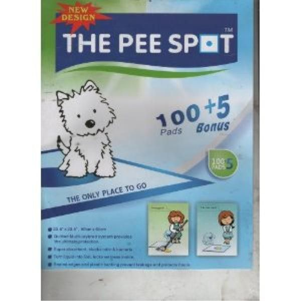 *THE PET SPOT DOG TRAINING WEE WEE PADS- 5 PK