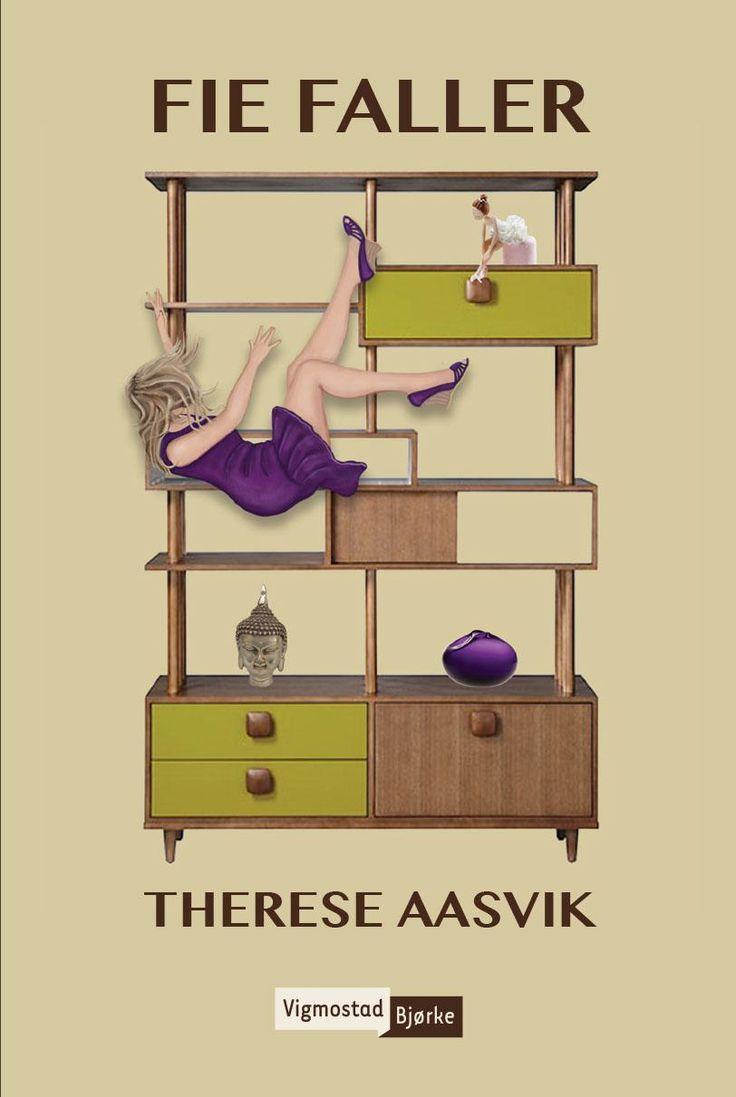 Fie Faller av Therese Aasvik Fie er en vestkantfrue, så opptatt av fasade at hun glemmer å glede seg over livet. Hun er ikke til stede i øyeblikket, fordi hun er for opptatt med å poste perfekte selfies og pynte i hjemmet. Når tilværelsen rakner, rakner det for alvor. Livet siger ned som dekor på smeltet cupcakefrosting. Dette kunne lett bli klisjéaktig, men Aasvik har bygget opp en fin karakter vi får ekte sympati for. Gjenkjennelseseffekten er nok også tilstede for flere av oss.