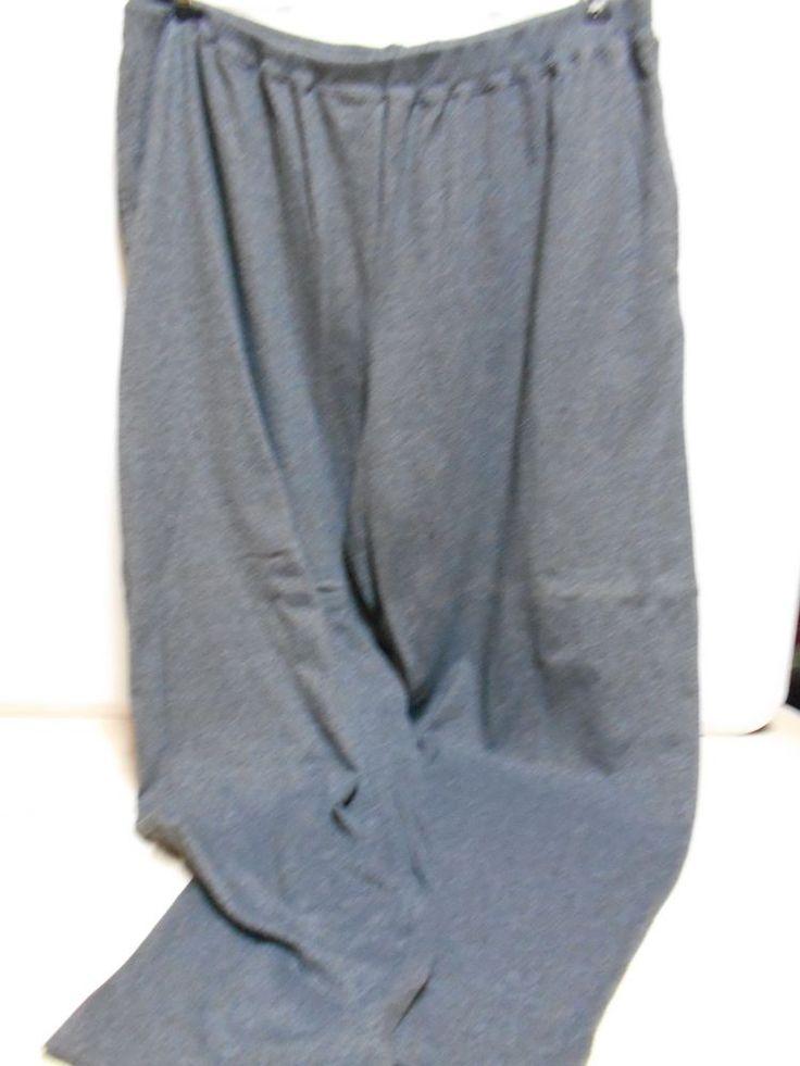 JMS Gray Sweat Pants W/Pockets Elastic Waist SIZE 22-24W Women's Sports Pants #JustMySize #SweatPants