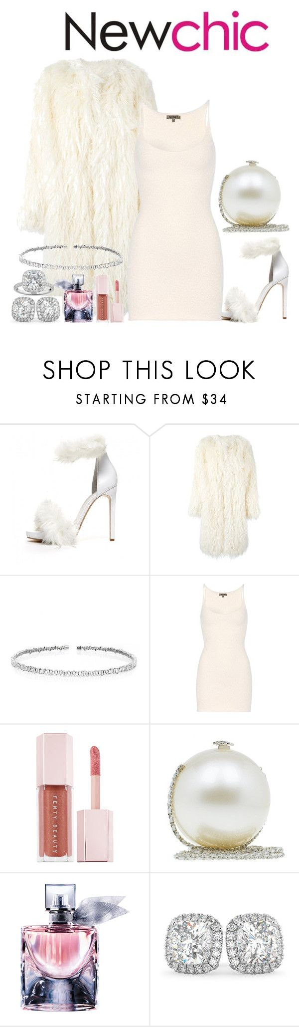 """Yeezy Fashion Show"" by rarah-chan on Polyvore featuring moda, Jeffrey Campbell, DKNY, Suzanne Kalan, Yeezy by Kanye West, Puma, Chanel, Lancôme e Allurez"