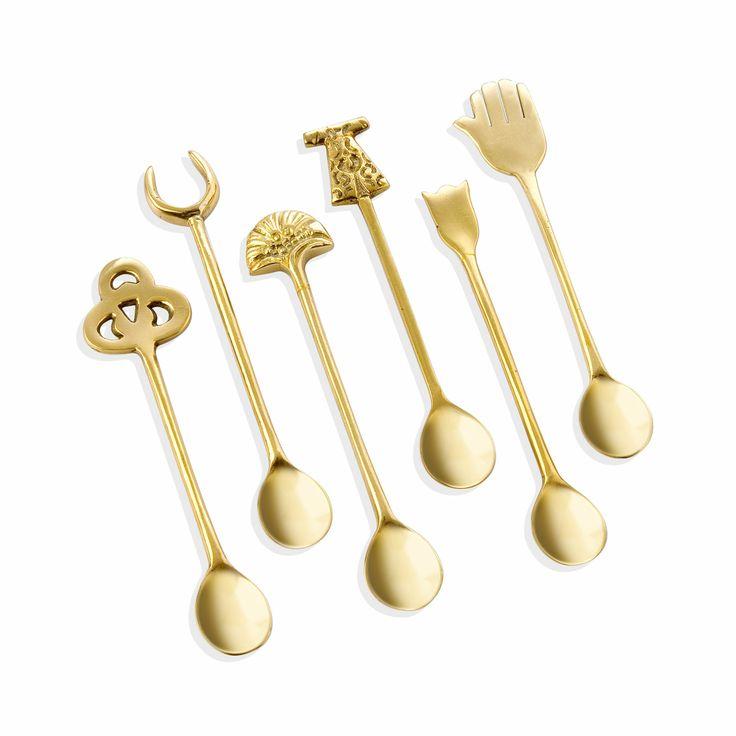Bernardo Osmanlı Serisi Çay Kaşığı / Tea Spoon #bernardo #tabledesign #homedesign #ottoman