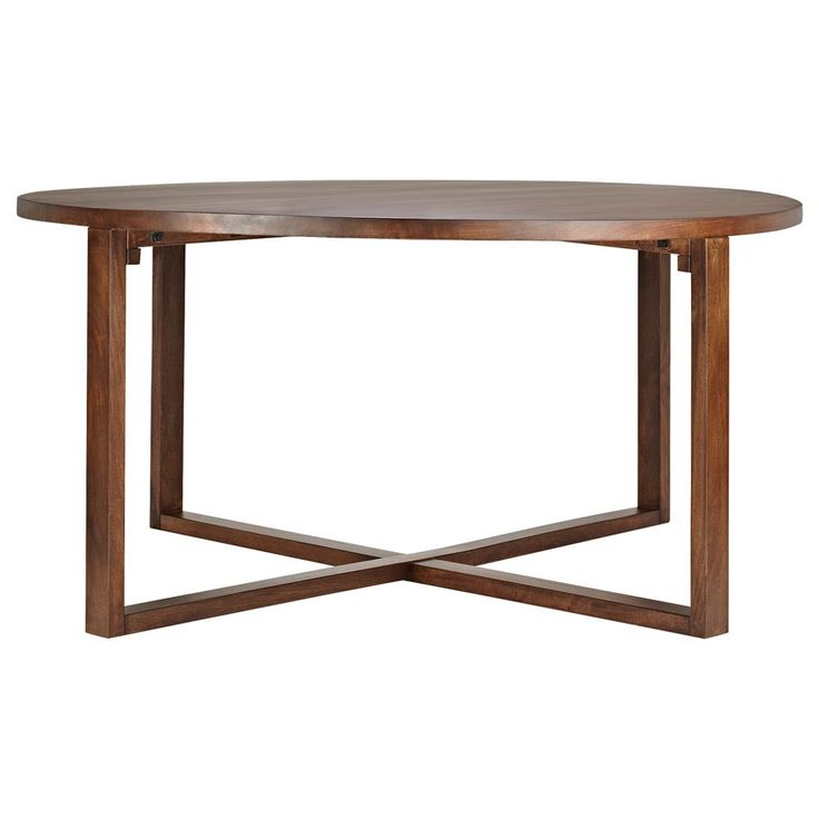 atelier classic round wood dining bouclair