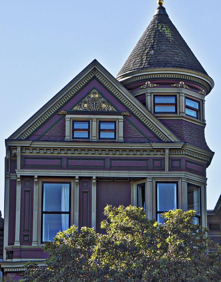 Victorian house on alamo square san francisco by jack for San francisco victorian houses