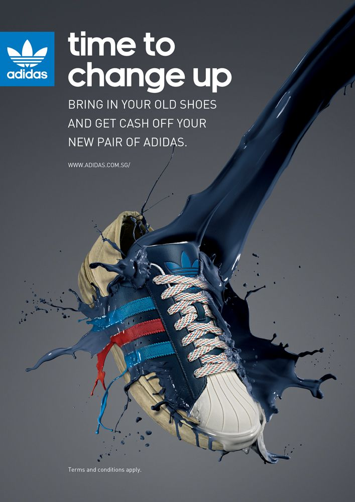 Time to change up / Adidas shoes advertising 2