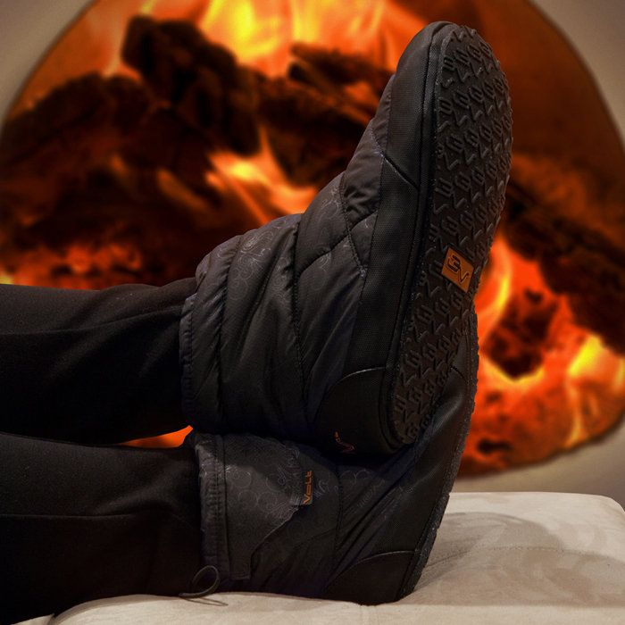 Heated Indoor Outdoor Slippers. I need these!!!