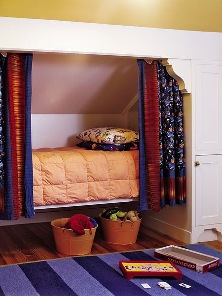 tuck a bed bench or desk into attic eaves live in it indoor rh pinterest com