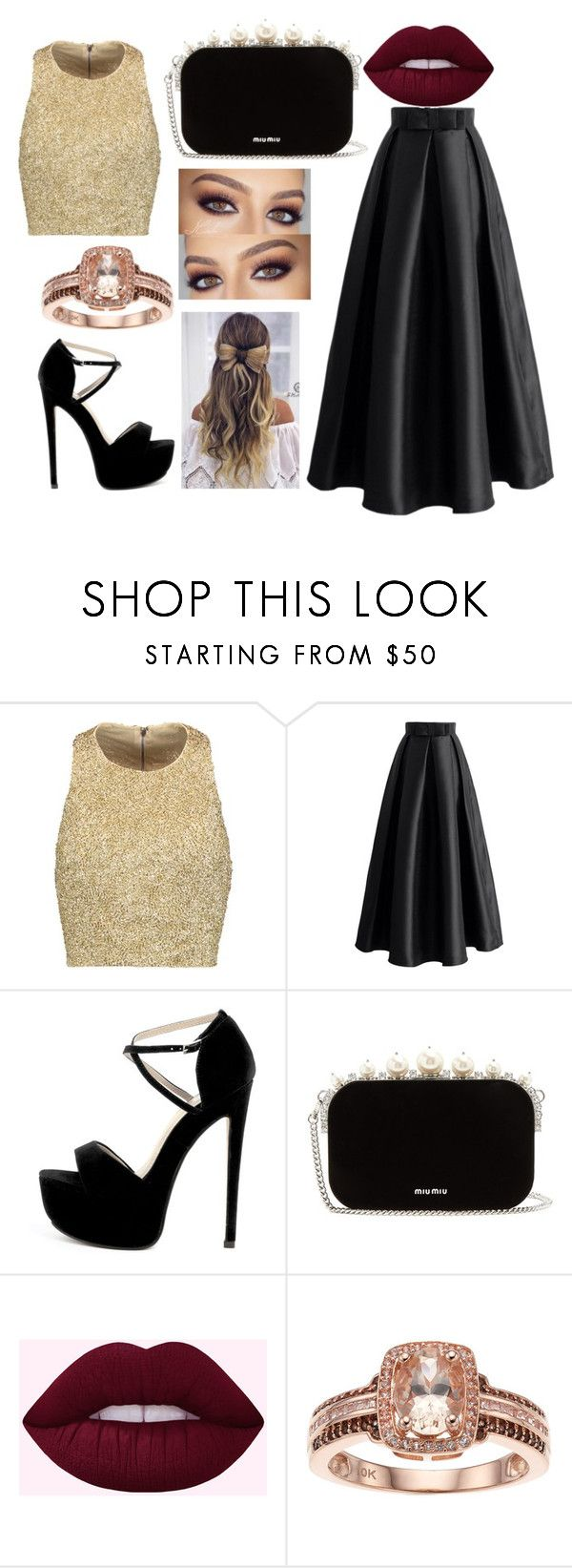 """""""Untitled #9"""" by regimoroz ❤ liked on Polyvore featuring Alice + Olivia, Chicwish and Miu Miu"""