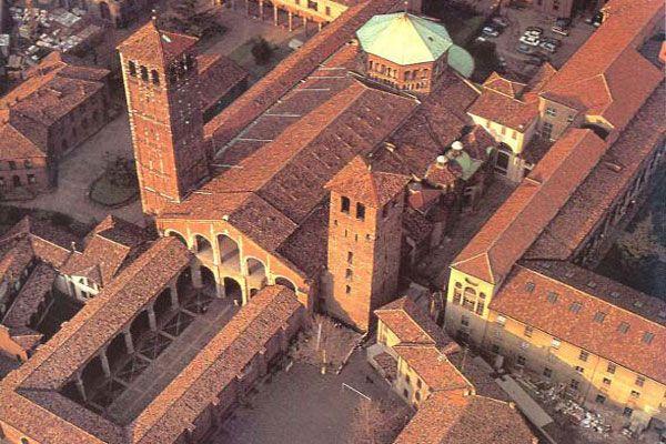 Basilica di San'Ambrogio Milano - Italy