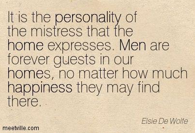 Elsie De Wolfe Quotes - Meetville