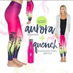 Aurora Leggings  They don't fade, stretch out or shrink yet still have wicking ability to keep you dry. The best part? They ALWAYS stay opaque and will never go sheer. What does this mean for you? Leggings that SUPPORT you, COVER you, STRETCH with you and NEVER leave you exposed.