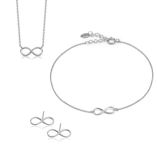Komplet Walentynkowy Unique, 219 PLN.  www.YES.pl/55511-komplet-walentynkowy-unique-AB-S-000-000-ANCT030-ABCT030-AKCT030 #jewellery #buyonline #heart #love #YESforRomance #perfect #shop #freedelivery #Poland #BizuteriaYES