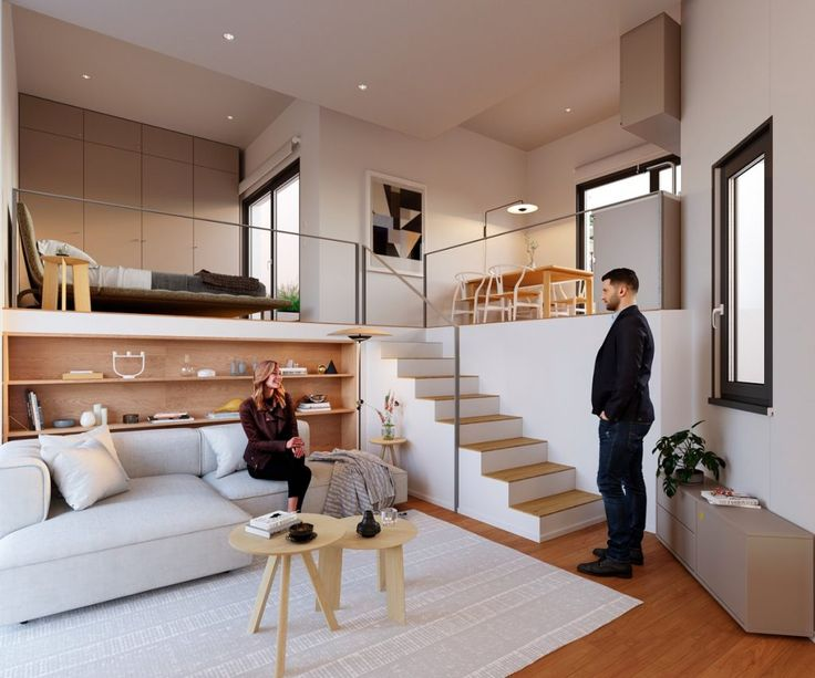 Effective Layouts For Super Small Homes Under 30sqm Small Space Interior Design Small House Interior Small House Interior Design