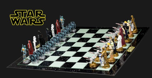17 Best Ideas About Star Wars Chess Set On Pinterest