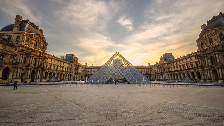 """@live_life_love_travel on Instagram: """"Early morning walk through Place du Carrousel, home of the Musee Louvre, nice to capture it in the…"""""""