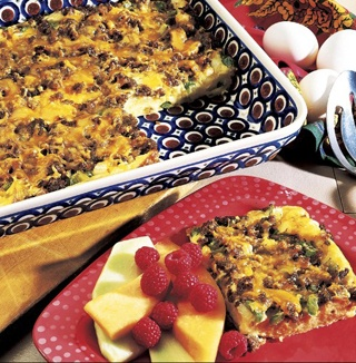 Casserole Recipe - Hearty Breakfast - | Breakfast | Pinterest | Hearty ...