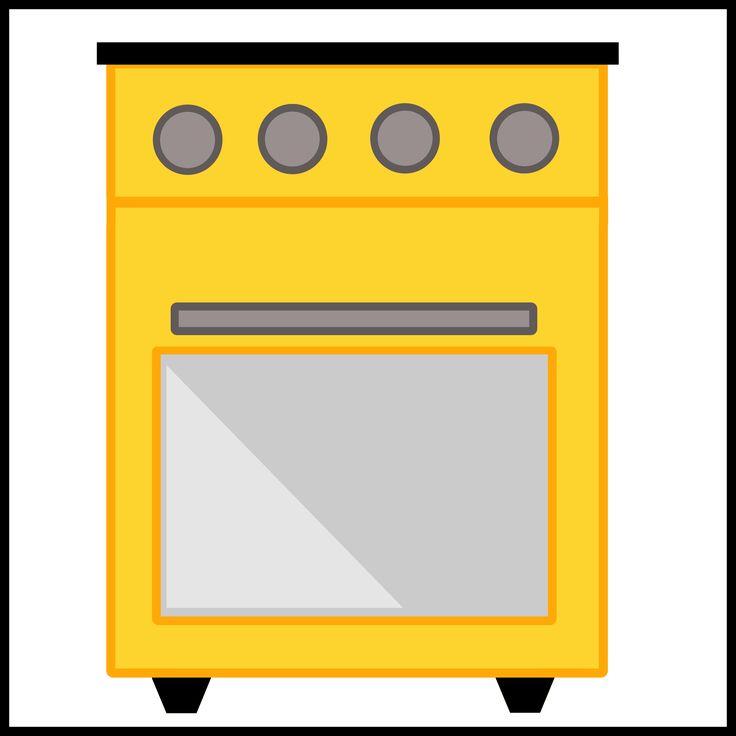 Kaartjes kiesbord - gasfornuis - huishoek - koken