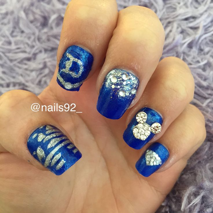 Best 25 anniversary nails ideas on pinterest nail designs for disneyland 60th anniversary nails nails92 prinsesfo Gallery