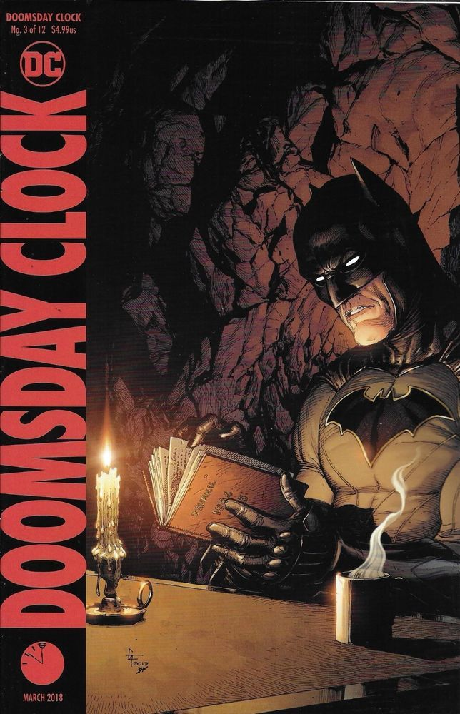 DC Doomsday Clock comic issue 3 Limited variant