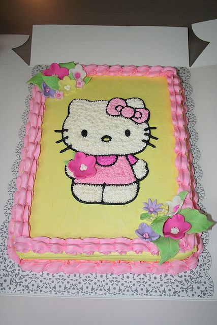 Hello Kitty Cake by Jens Creations, via Flickr