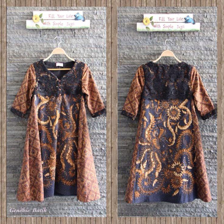 Batik tulis Pekalongan Lawas + Prada + Lining Tricot, Gendhis' Batik