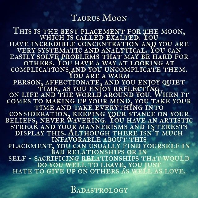 taurus moon. #Zodiac #Astrology For related posts, please check out my FB page: https://www.facebook.com/TheZodiacZone