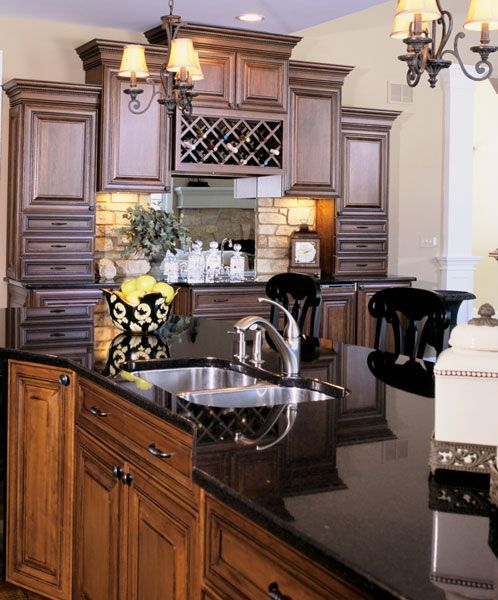 Design Of Kitchens Inspiration 30 Best Kitchens In Black Granite Images On Pinterest  Kitchens Inspiration Design