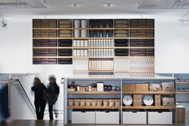 muji shop in milano - Explore, Collect and Source architecture