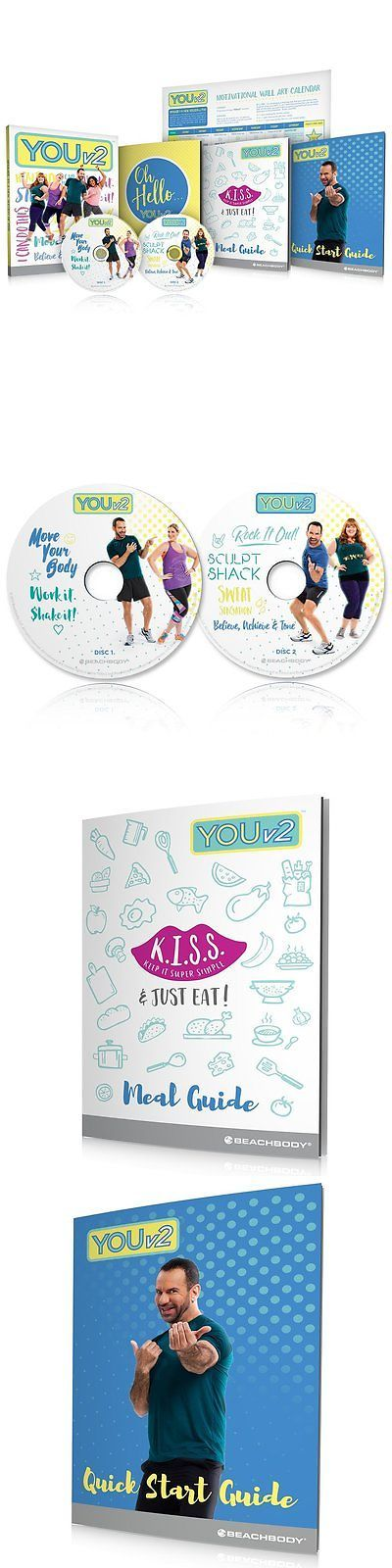 Fitness DVDs 109130: Youv2 Beginner Health And Fitness Workout Dvd Program And Meal Guide -> BUY IT NOW ONLY: $61.08 on eBay!