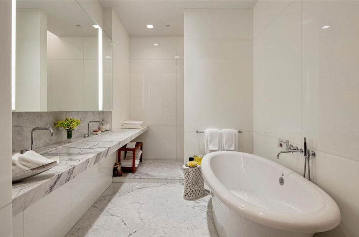 30 Marble Bathroom Design Ideas 27