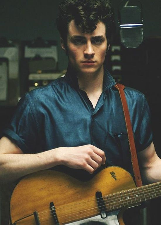 Nowhere Boy If u look at this guy in google please check out the age of the lady that hes married (no offence shes beautiful) and u would know what its a real brokenheart...rip to me