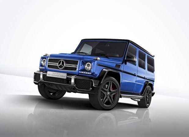 2200万円の50台限定車「メルセデスAMG G 63 50th Anniversary Edition」が発売開始 | clicccar.com(クリッカー)