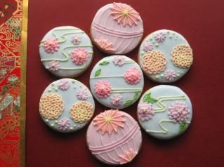 Japanese sweets: inspiration for iced biscuits