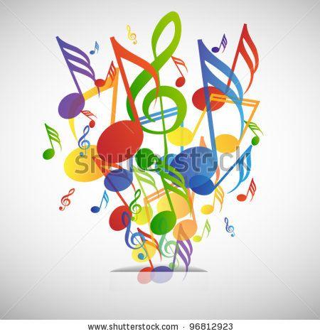 Music explosion by JonnyDrake, via ShutterStock