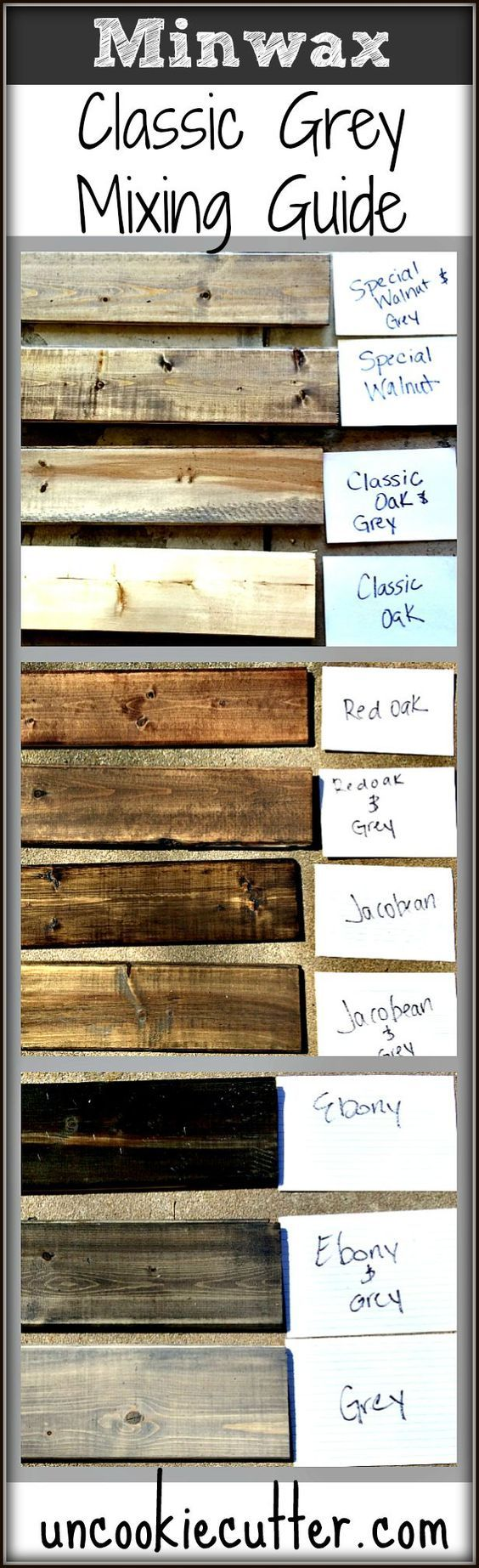 Mixed Wood Wall - Easy