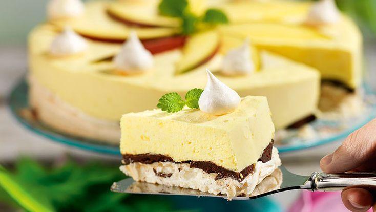 Marängtårta med mango recept