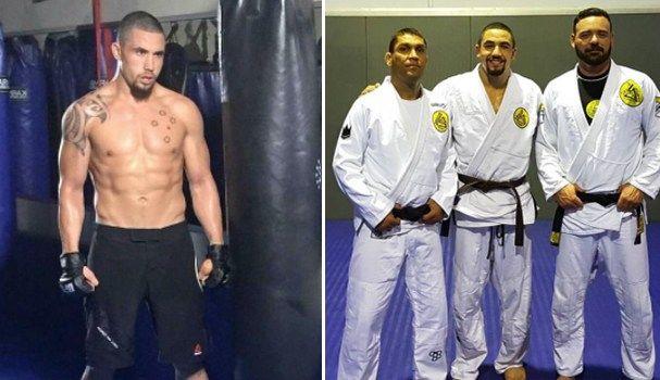 UFC Fighter Robert Whittaker Earned His Brown Belt In Brazilian Jiu-Jitsu