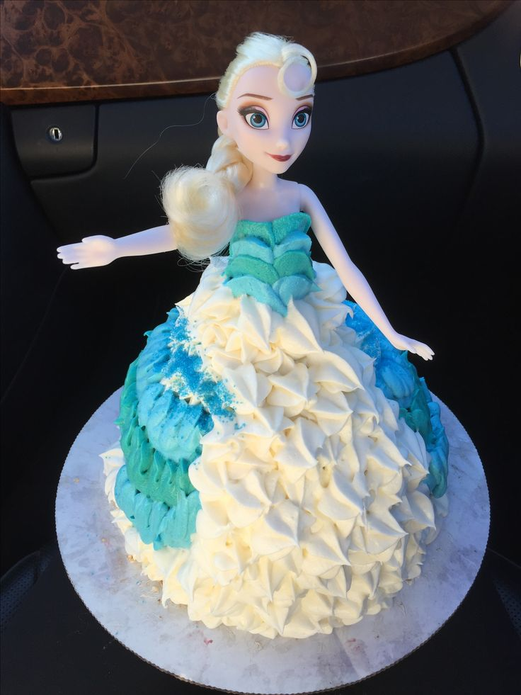 Elsa Doll Cake Decoration : Best 25+ Elsa doll cake ideas on Pinterest