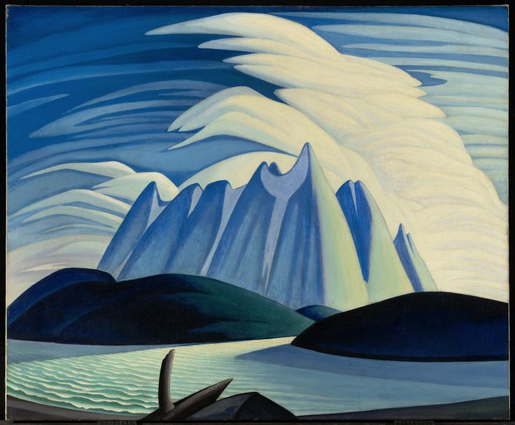 Newfoundland Iceberg Painting by Lawren Harris, 1928