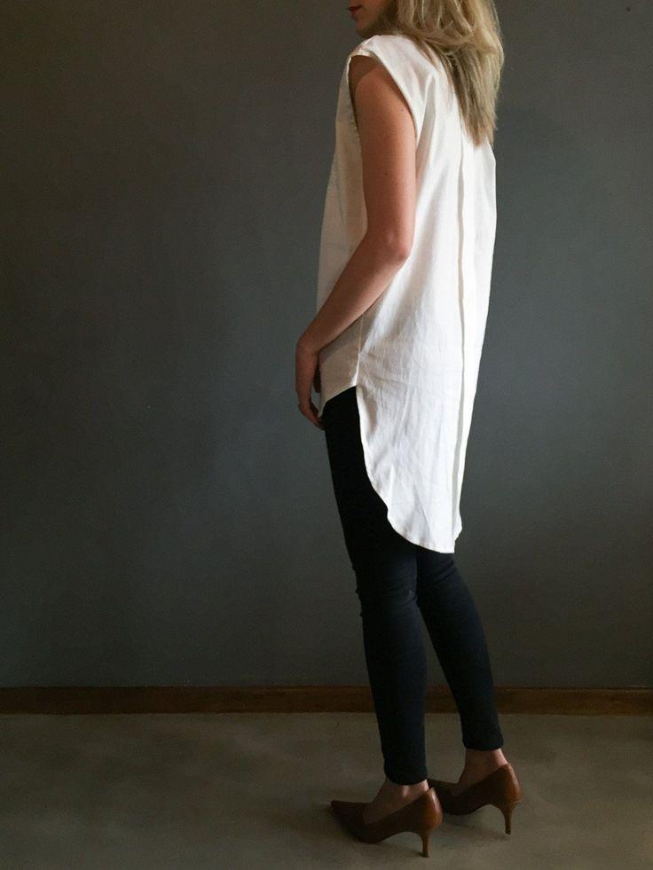 OFF WHITE+ANGLAISE   tux shirt