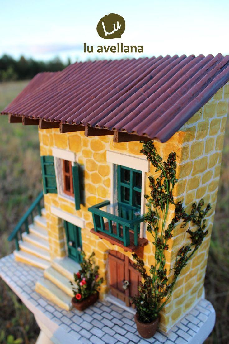 RETABLO, casa empedrada, autor Lu Albornoz