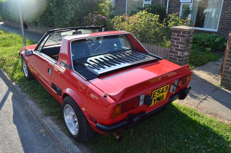 Looking for a fiat x19 in red. 1987 full mot uno turbo ie engine? This one is on eBay.