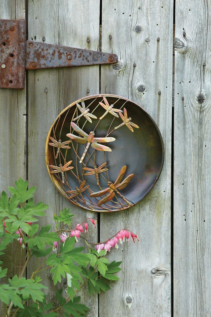 3D Wall Art: Metal Dragonfly Wall Art   Outdoor Metal Wall Art