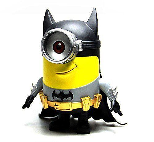 Despicable Me 2 Batman Minion Superhero PVC Edition Figure @ niftywarehouse.com #NiftyWarehouse #DespicableMe #Movie #Minions #Movies #Minion #Animated #Kids