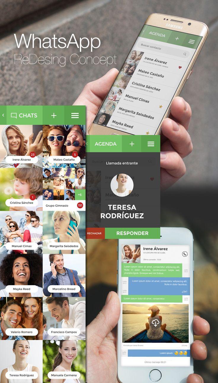 Propuesta de rediseño para la aplicación WhatsApp