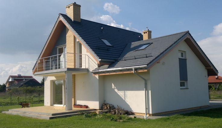 Projekt domu Gucio część ogrodowa #ogród #dom #projekt